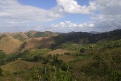 Range of El Rosario in the way to Sandiego de los Baños