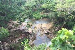 In the top of Soroa waterfall