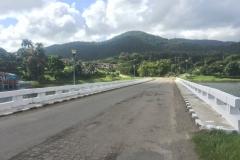 Bridge over the lake San Juan