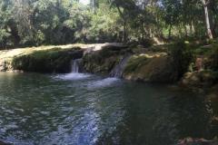 San Juan river in Las Terrazas