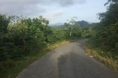 Down hill to Los Portales